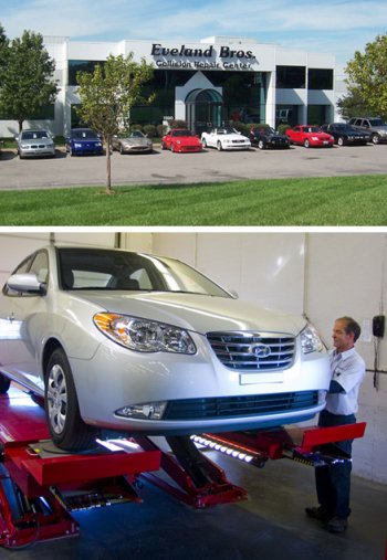 Collision Repair Center >> Kansas City Collision Repair Eveland Bros Collision Repair Center